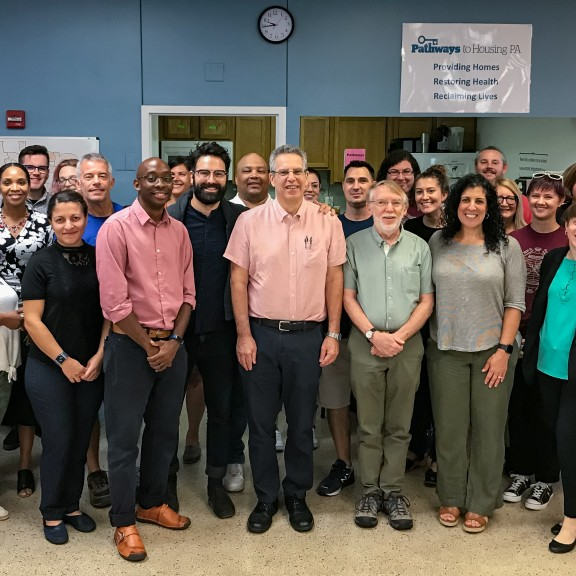 Group photo of Pathways staff